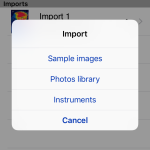 FLIR Tools Import Prompt