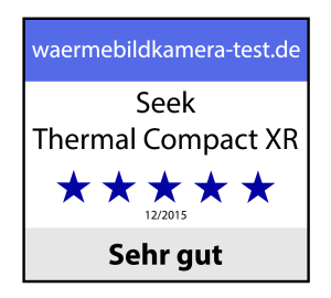 Seek Thermal Compact XR Award-Rating