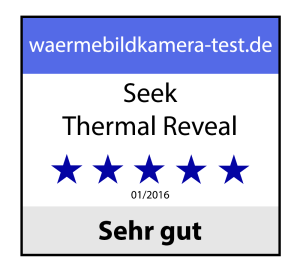 Seek Thermal Reveal Award-Rating