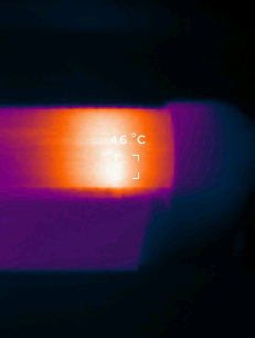 Seek Thermal Reveal Wärmebildkamera Energiesparlampe
