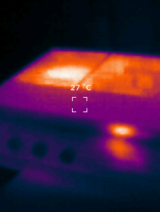 Seek Thermal Reveal Wärmebildkamera Stereoanlage