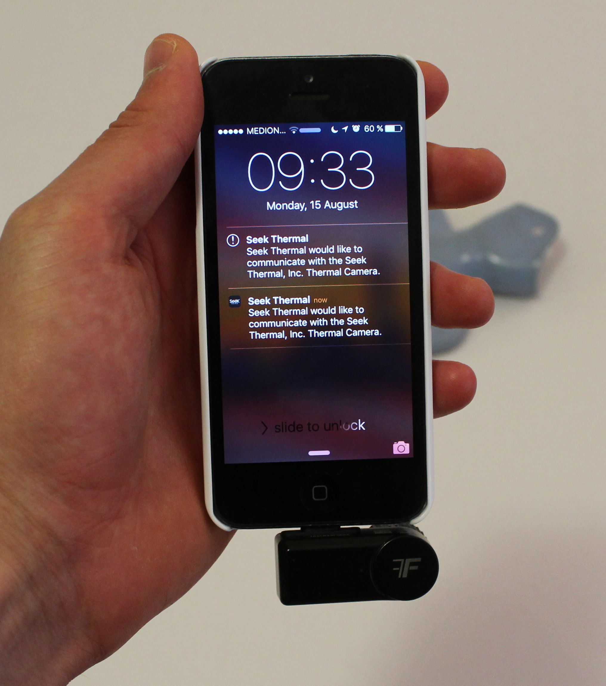 Seek Thermal Compactpro Thermal Imager Iphone Android Tested
